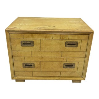 1960s Campaign Lane Furniture Wood Chest of Drawers For Sale