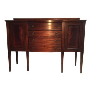 Antique Federal Mahogany Sideboard