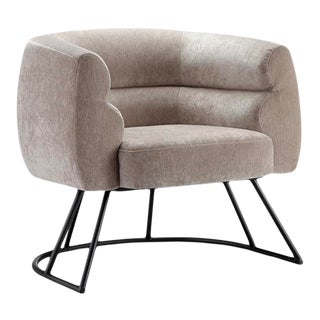 Vesta Ronnie Contemporary Lounge Chair For Sale
