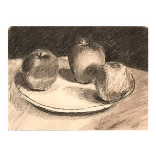 Vintage Still Life With Apples For Sale