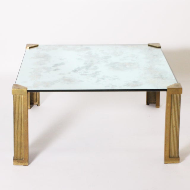 Peter Ghyczy Coffee Table With Smoked Glass Top C. 1970 For Sale In Dallas - Image 6 of 6