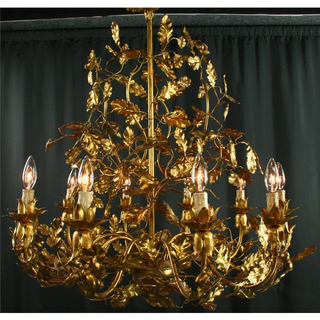 Add a touch of Italian opulence to your home with this charming chandelier! Constructed of metal, this very showy...