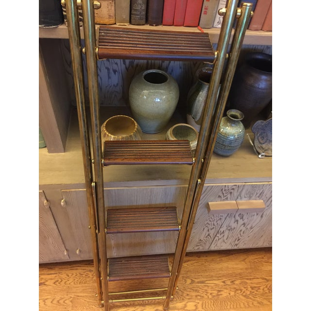 English Folding Library Ladder - Image 6 of 6