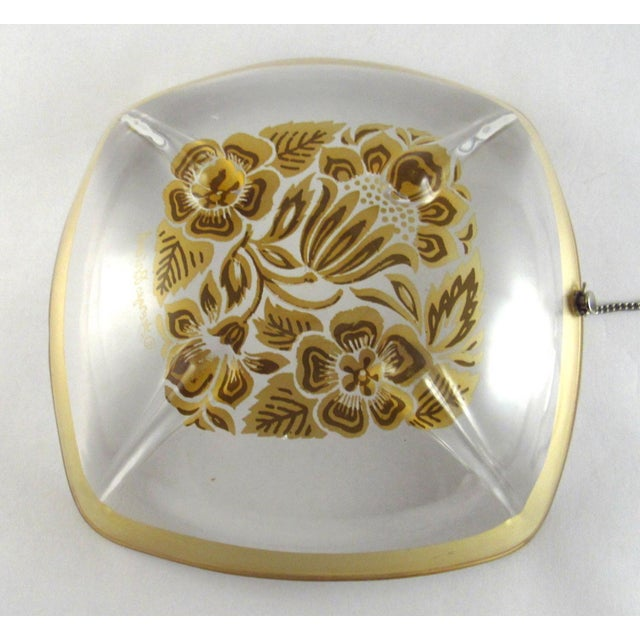 Silver 1960s Georges Briard Silver Enamel Lemon Bowl With Attached Silver Plate Fork For Sale - Image 8 of 11