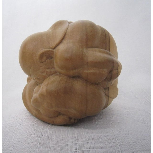 "Carved ""Weeping Buddah"" - Image 3 of 4"