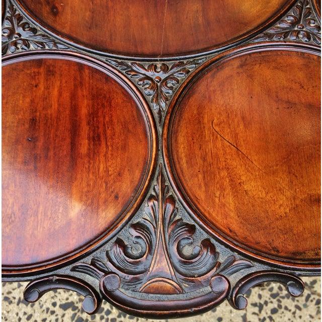 19th Century Georgian Mahogany Tilt-Top Breakfast Table For Sale - Image 9 of 13