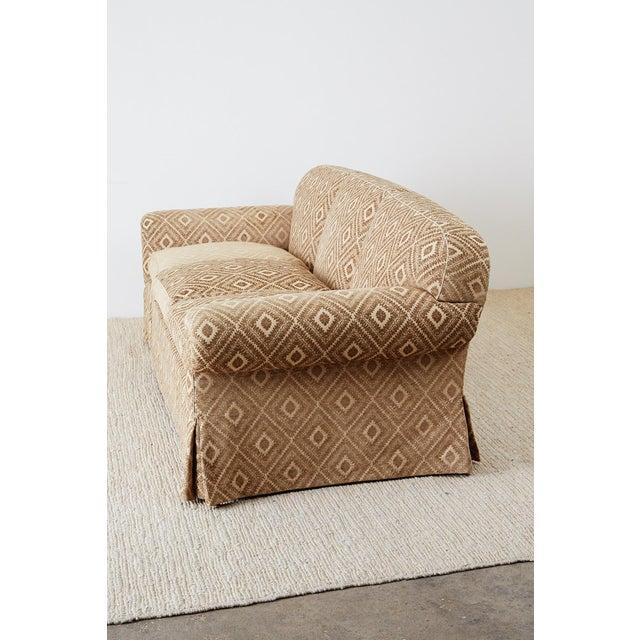 Contemporary Jonas New York English Style Three-Seat Sofa For Sale - Image 3 of 13