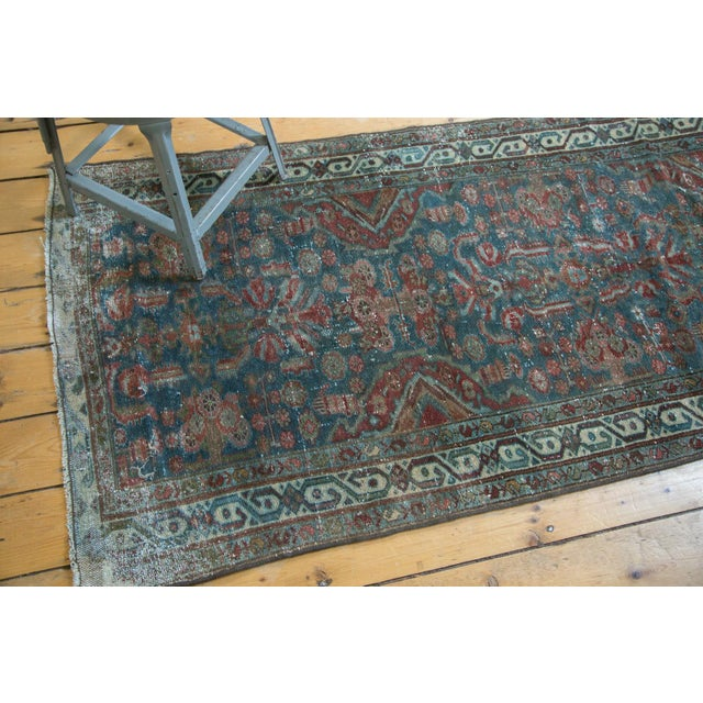 """Old New House Vintage Northwest Persian Rug Runner - 3' X 8'6"""" For Sale - Image 4 of 11"""