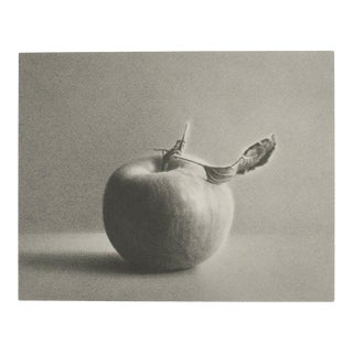 """Martha Alf """"Apple"""" Still Life Lithograph Print Limited 197/250 Signed For Sale"""