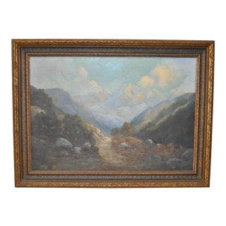 Western Mountain Landscape by Alice Daniels Bryant c.1920