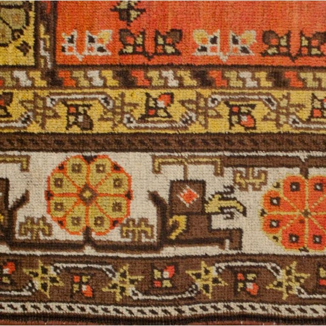 """Early 20th Century Early 20th Century Khotan Rug - 60"""" x 102"""" For Sale - Image 5 of 6"""
