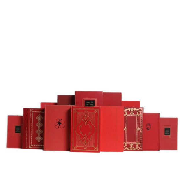 Liberal Arts Selections in Scarlet, S/20. Twenty vintage books featuring literary classics and liberal arts themed...