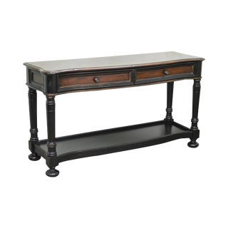 Hooker Furniture Seven Seas Paint Decorated Console Table