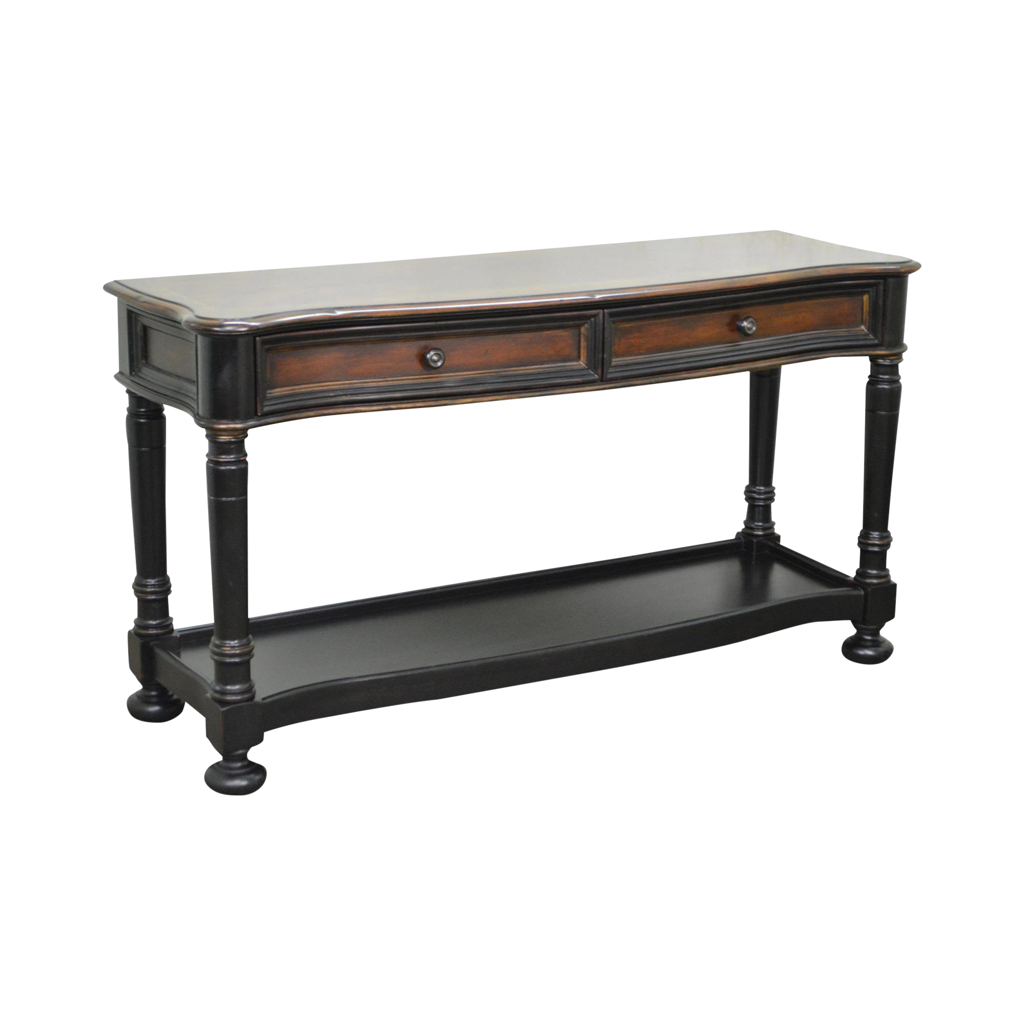 Superior Hooker Furniture Seven Seas Paint Decorated Console Table