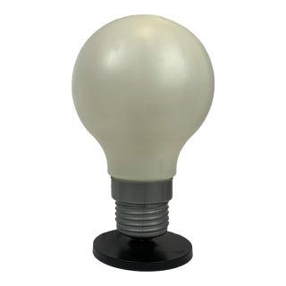 1960's Mod Lightbulb Lamp For Sale