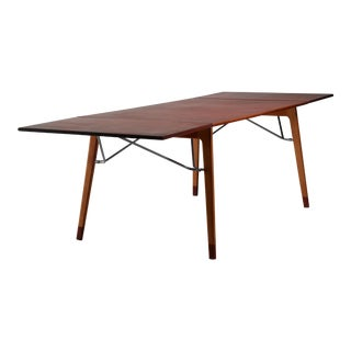 Børge Mogensen Double Drop-Leaf Table for Søborg, Sweden, 1950s For Sale