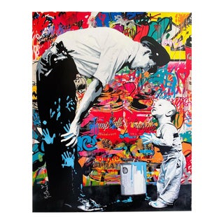"Mr. Brainwash "" Not Guilty "" Authentic Lithograph Print Pop Art Poster For Sale"