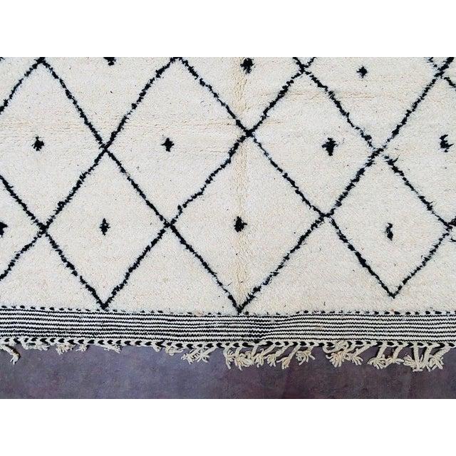2000 - 2009 Vintage Berber Moroccan Rug For Sale - Image 5 of 10