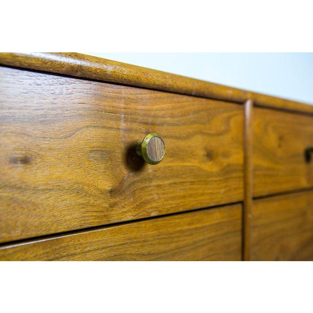 Directional Mid-Century Modern Six-Drawer Dresser by Kipp Stewart for Drexel For Sale - Image 4 of 6