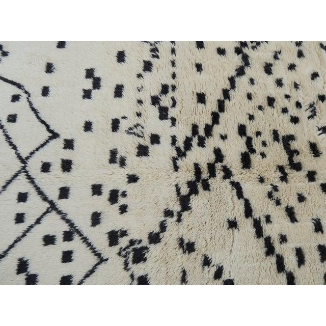 Boho Chic Beni M'rirt Rug For Sale - Image 3 of 5