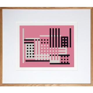 "Josef Albers "" Portfolio 1, Folder 24, Image 2"" Print"
