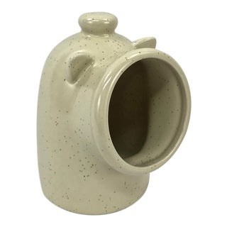 Salt Glazed Ceramic Salt Pig