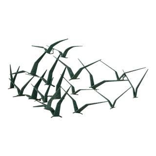 Mid Century 'Birds in Flight' C. Jere Sculpture For Sale