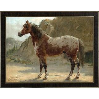 Pinzgauer by Eerelman Framed in Italian Wood Vener Moulding For Sale