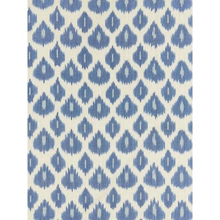 Scalamandre Amara Ikat Weave, Lapis Fabric Preview