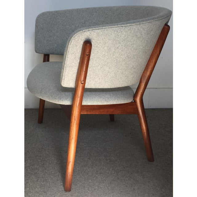 Mid-Century Modern 1950s Vintage Nanna Ditzel Nd 83 Lounge Chair For Sale - Image 3 of 10
