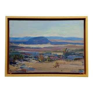 Mary Darter Coleman California Desert Landscape Oil Painting For Sale