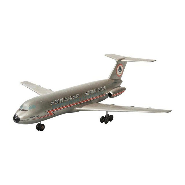 Vintage American Airlines Astrojet Aviation Model For Sale - Image 10 of 10