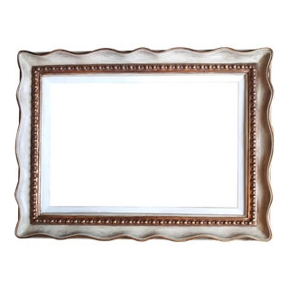 Vintage Mid-Century Modern Style Acrylic Picture Frame For Sale
