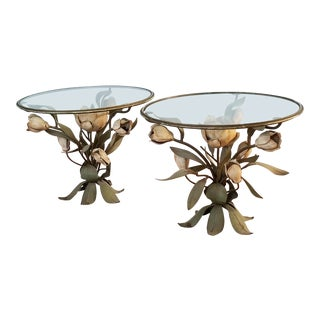 1960s Italianate Cigarette Tables - a Pair For Sale