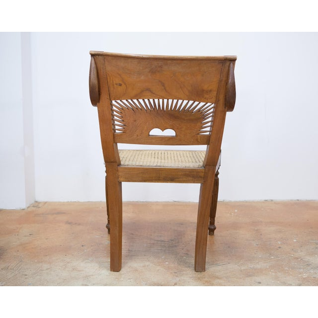Vintage Teak & Cane Chairs - A Pair - Image 5 of 9