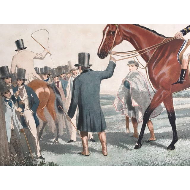 Realism English Horse Racing Print, C1853 For Sale - Image 3 of 13