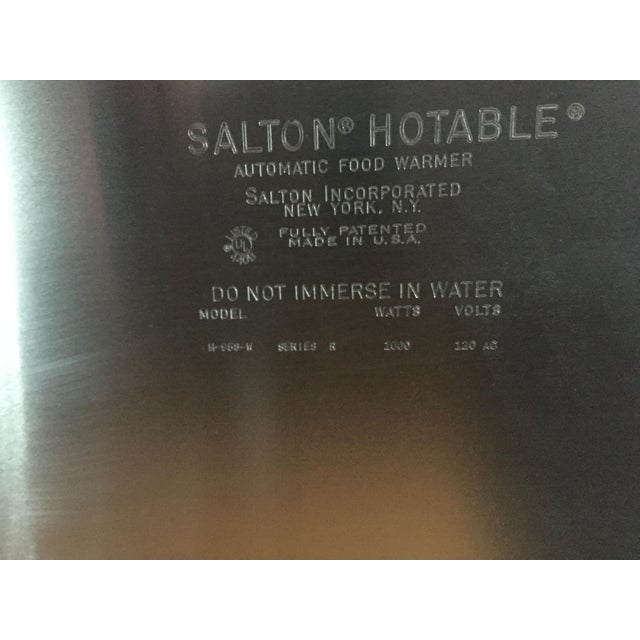 Salton Electric Serving Cart - Image 8 of 8