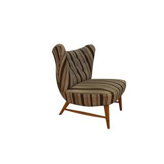 Mid Century Elias Svedberg Knoll 201 Wingback Armless Chair For Sale