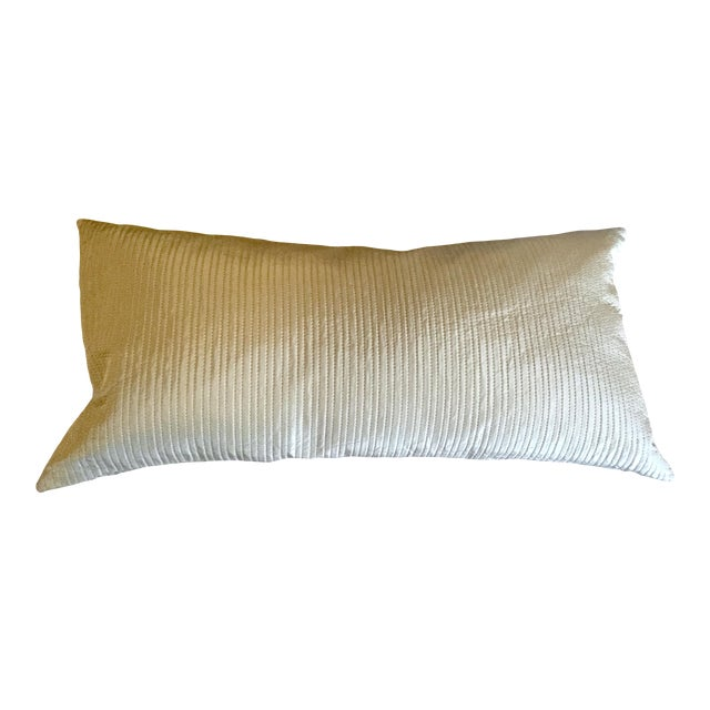 Celadon Wide Lumbar Pillow For Sale