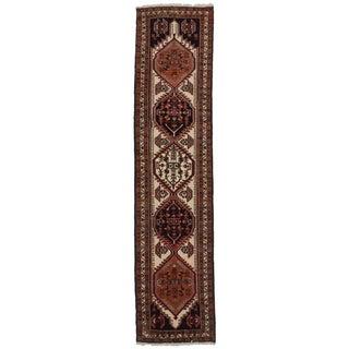"""Vintage Persian Ardebil Wool Runner- 2'5"""" X 10'5"""" For Sale"""