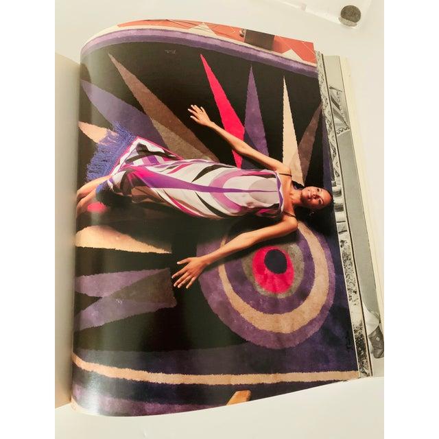 Emilio Pucci 1996 Italian Emilio Pucci Book For Sale - Image 4 of 11