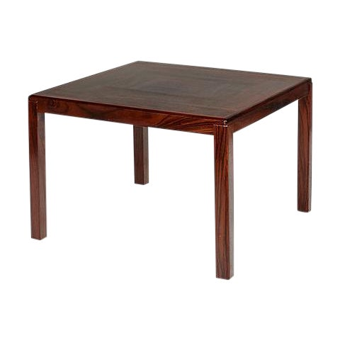 1960s Danish Rosewood Side Table For Sale