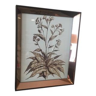 Z Galleries New Mirrored Botanical Print