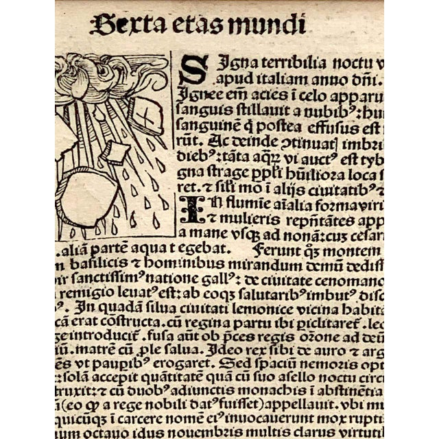 'World Chronicle', 1st Edition, by Schedel & Wolgemut, Nurnberg, 1493 For Sale - Image 11 of 13