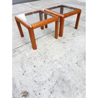 Mid Century Modern Mobler Danish Teak Wood Coffee Table & Side Tables Set Preview