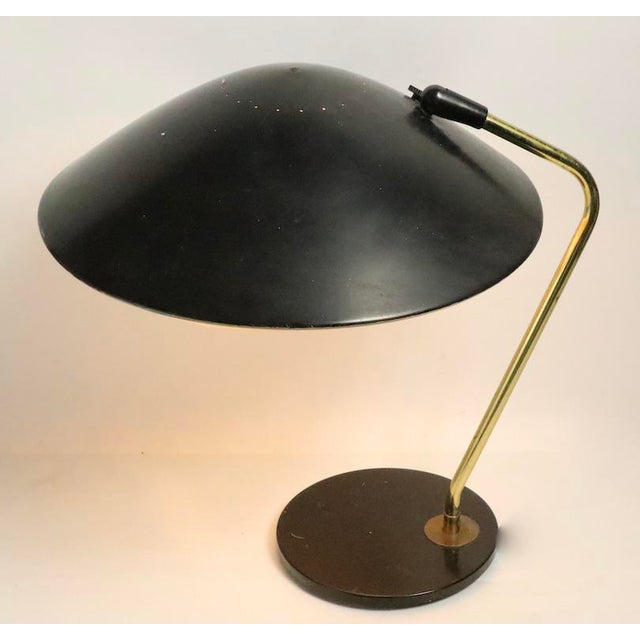 Mid Century Disk Lamp by Thurston for Lightolier For Sale - Image 9 of 10