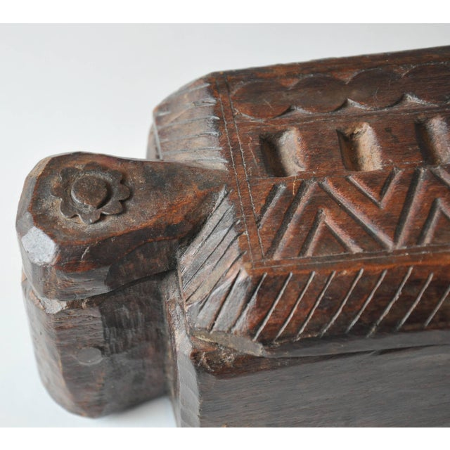 Mid 19th Century 19th Century India Rajasthan Spice Box For Sale - Image 5 of 6