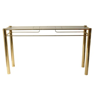 Romeo Rega Gilded Console Table For Sale