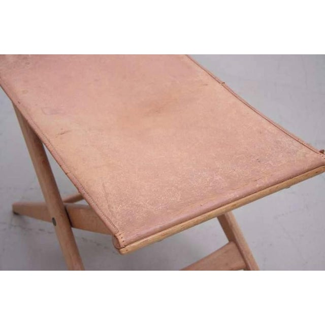 Luxus Folding Stool by Des. Uno and Östen Kristiansson for Luxus Vittsjö For Sale - Image 4 of 6