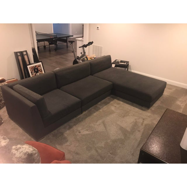 2010s Donghia Sectional Sofa For Sale - Image 5 of 9